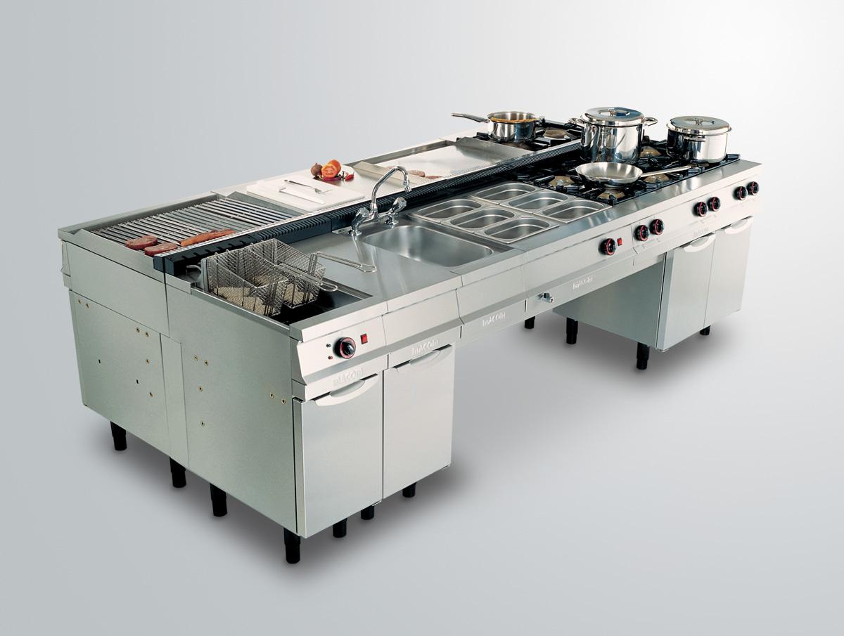 de cocção que possibilita a customização de cozinhas profissionais #6C3F3B 1200 905