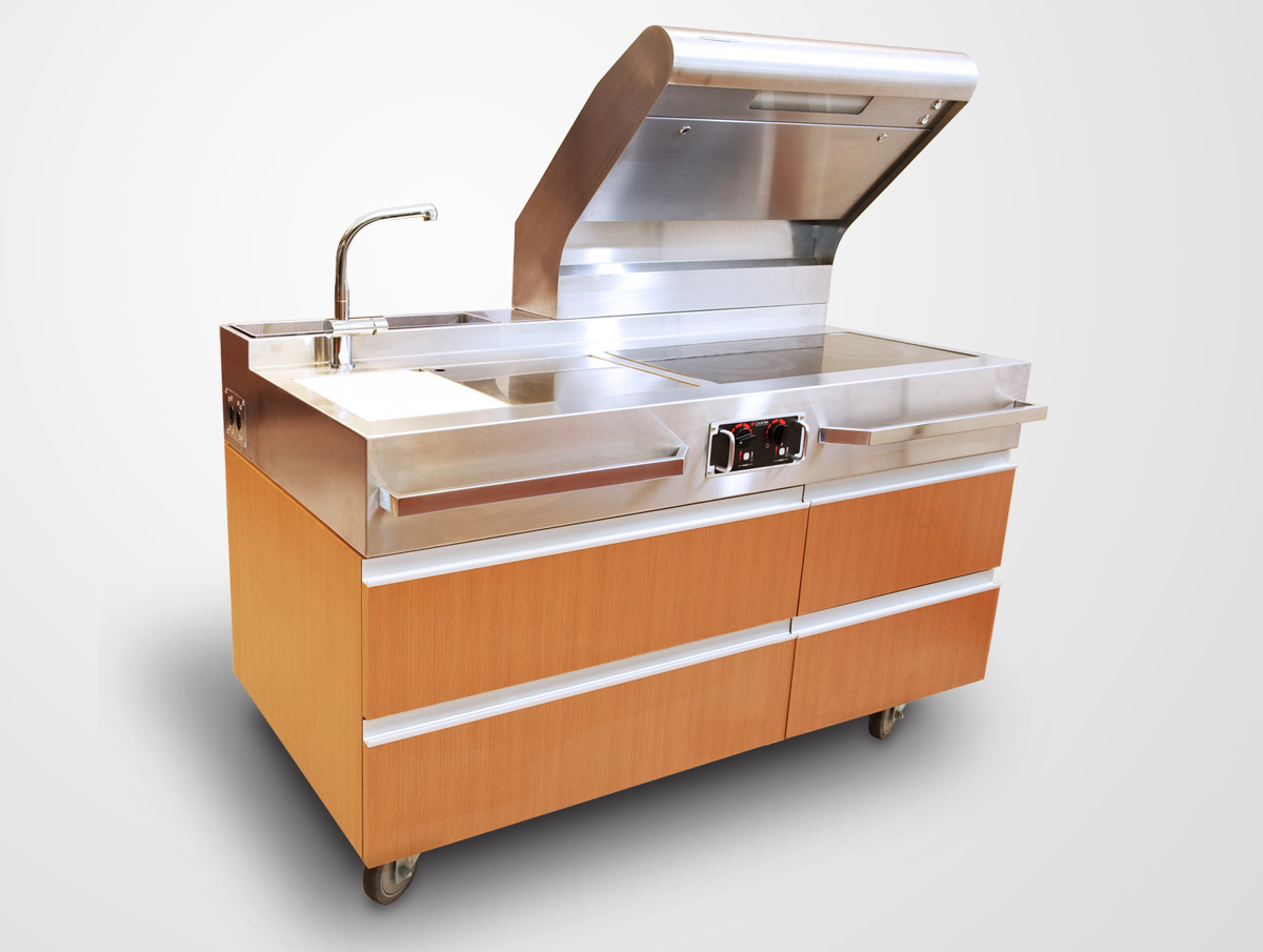 Unilever Studio Gourmet Estacao de Cozinha 1 #9D5D2E 1200 905